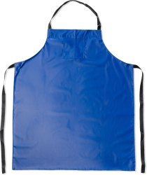 Polyester Blue Plastic Bib Apron, For Kitchen, Size: S-M