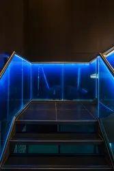 LED Glass Railings IBAX LED 01
