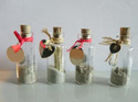 Message Glass Bottle With Cork