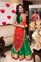 Designer Festive Wear Banglori Silk Lehenga