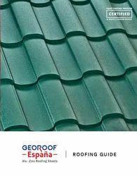 Geo Green Grain Finish Ultima Espana Roofing Sheet