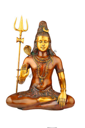 Blessing Lord Shiva Idol 20 Inches