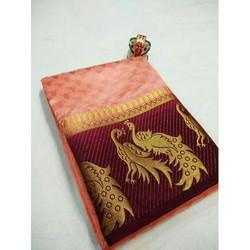Kanjivaram Double Peacock Saree