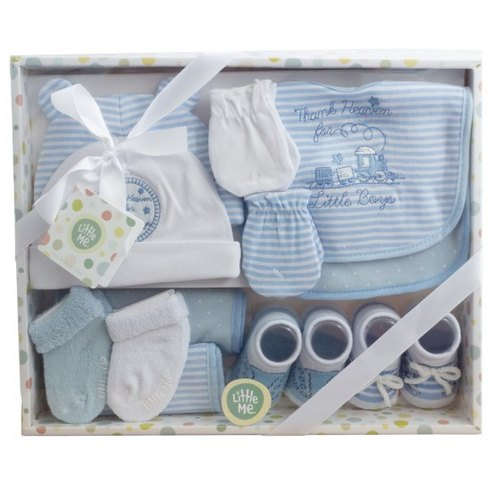100% Cotton Interlock BABY Gift set, Age Group: Newly Born