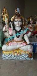 Marble Shiva Statue