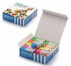 Rubber Eraser, Packaging Type: Box