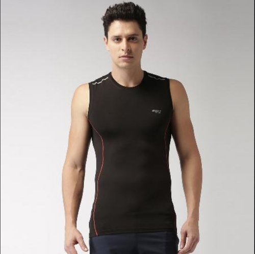 ab0a1af026e71 2GO Round Neck Sleeveless Training T-Shirt at Rs 300  piece