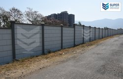 Folding Boundary Compound Wall, Thickness: 50 mm