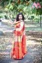 Banarasi Silk With Weaving Silver Zari