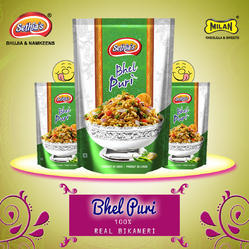 Masala Salted Sethia's Bhel Puri, Packaging Type: Packet