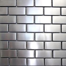 Metal Mosaic Tile, 6 - 8 Mm