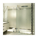 Transparent Bathroom Toughened Glass, Packaging Type: Boxes, Shape: Flat
