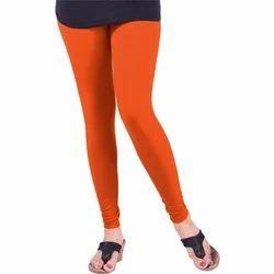 Ladies Cotton Lycra Casual Churidar Legging
