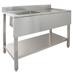 Commercial Kitchen Sink Table