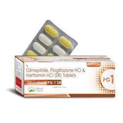 Glycoheal PG1 SR - Glimepiride ,Metformin ,Pioglitazone