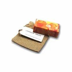 Natural Orange Zest Handmade Castile Soap