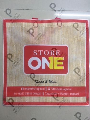 Non Woven Carry Bag, Bag Size: 10 X 12 - 18 X 17.5 X 8 (Inches)