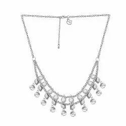84f27d4800c65 Sangeeta Exports Alloy Metal ChicKraft Belle Silver Metal Choker Necklace