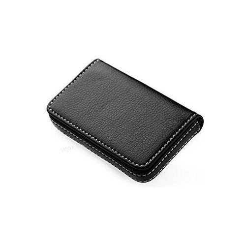 Balck Leather Visiting Card Holder
