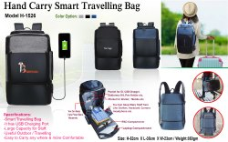 Hand Carry Smart Traveling Bag H-1526