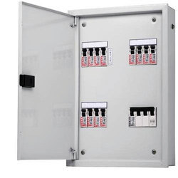 Three Phase AC Power Electrical MCB Distribution Panel, IP Rating: 54
