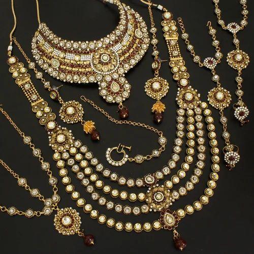 Indian Bridal Jewellery: Vardhaman Goodwill Indian Bridal Jewellery, Rs 2100 /set