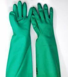 Nitrile Rubber Hand Gloves Midas Make