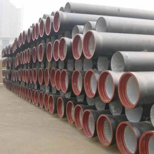 Round Ductile Iron S&S Pipes for Drinking Water