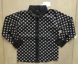 Lycra Cotton Shirts & T-Shirts Boys Kidswear, Size: 24.0