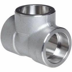 Stainless Steel Socket Weld Equal Tee