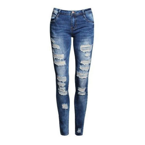 Women Ripped Skinny Jeans