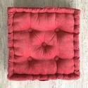 Box Cushions- Light Red