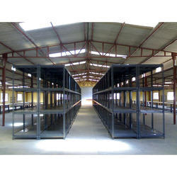 Warehouse Slotted Angle Steel Rack