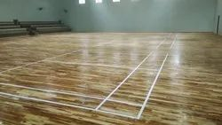 Wooden Indoor Badminton Sports Flooring