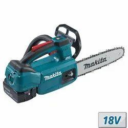 MAKITA 250 Mm Cordless Chain Saw, Warranty: 6 months, 18V