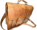Leather Briefcase Shoulder Bag