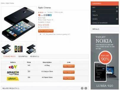Affiliate Price Comparison Ready Made Website Php Script