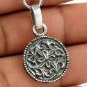 925 Sterling Silver Sikh Pendant