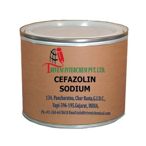 Industrial Grade Powder Cefazolin Sodium, Packaging Size: 25, Packaging Type: Bag