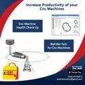 CNC Machine Linear Laser Calibration Service - Pitch Error Compensation