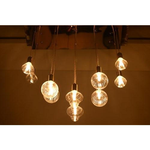 Yellow Incandescent Bulb Pallet Ideas Hanging Light 120 W