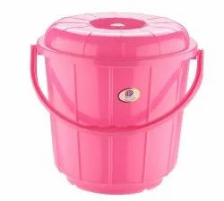 Plastic Handle Bathroom Bucket 3 Ltr