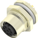 M12 8Pin Female Panel Mount Connector