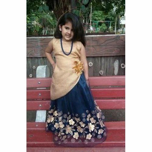 Kids Girl Indo Western Dress