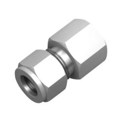 Ex-Lok Stainless Steel SS Female Connector, Size: 1/4