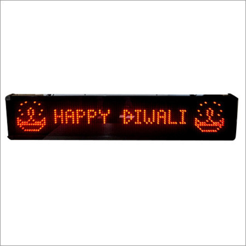 Acrylic LED Sign Board, Shape: Rectangle, for Advertisement