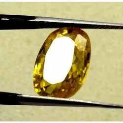 5.5 Carat Pukhraj Ceylon Yellow Sapphire Stone