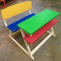 Dual desk Z model colourful