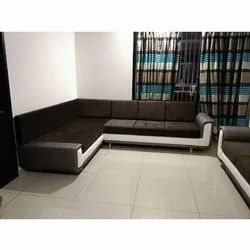 A Plus Furniture 6 Seater Designer Living Room Sofa Set