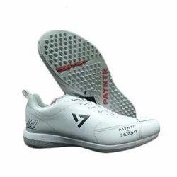Men White Seven Payntr Cricket Shoes Studds, Size: 8